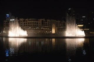 Show das águas em Dubai Mall