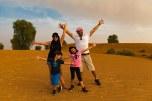 Nós no deserto