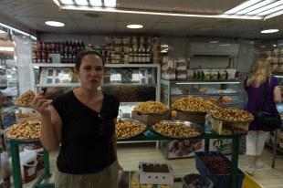 Mercado de Tâmaras em Abu Dhabi