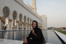 Lu na Grande Mesquita Sheikh Zayed