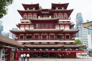 Templo Hindu em Chinatown