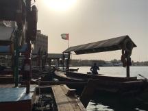Travessia para a antiga Dubai