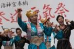 Apresentação folclórica no Parque Yoyogi