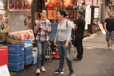 Caminhando e conversando pelas ruas de Tokyo