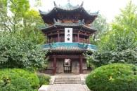 Jardim em Chengdu