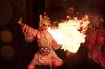 Show folclórico em Chengdu