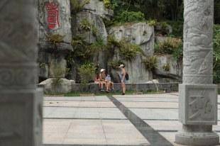 Nós no parque em Shenzhen