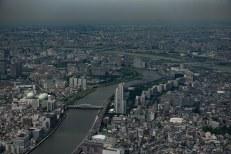 Vista do Sky Tree Tokyo