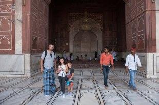 Jama Masjid - Mesquita em Delhi