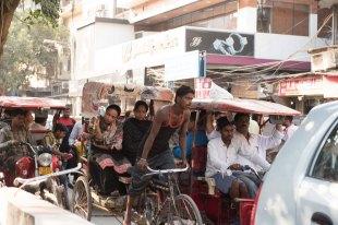 Nas ruas de Delhi - Old City