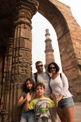 Ruínas de Qutab MInar - Delhi