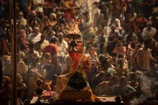 Cerimônia Aarti - Varanasi