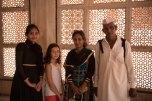 Família indiana que pediu para nos fotografar
