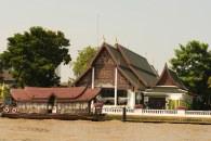Rio Chao Phraya em Bagkok