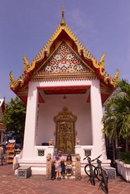 Minha turma no Wat Pho