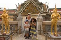 Eu e as crianças no Grande Palácio