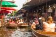 Mercado Flutuante de Damnoem Saduak