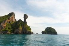 Ilha da 'Galinha' perto de Krabi