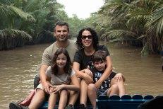 Nós no rio Mekong