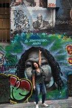 Vielas grafitadas de Melbourne