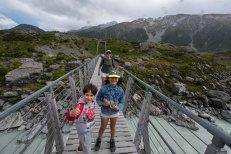 A caminho do Mont Cook