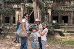 Nós e a Flor em Angkor Wat